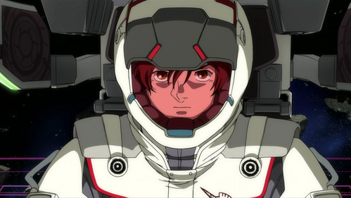 I am Banagher links from Gundam Unicorn Awesome :D