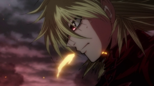 I'm Seras Victoria from Hellsing. Lucky me.~