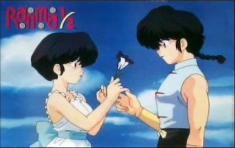 Ranma and Akane from Ranma 1/2