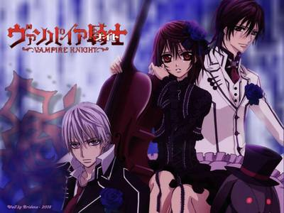 Vampire Knight... My fave ! and I have a feeling that you'll like it as well... :P