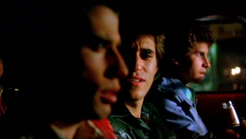 John, Joseph Cali and Barry Miller in the dark. :)
