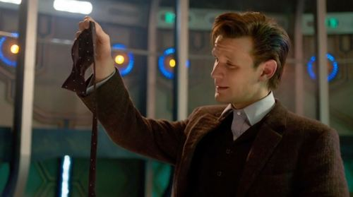 """I cried at """"The Time of the Doctor"""" when Matt Smith regenerated into Peter Capaldi. But the moment that got me the most was when he dropped his bowtie down on the ground!"""