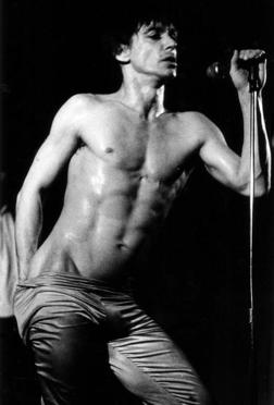 Iggy Pop, one of Bowie's best bros