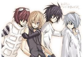 Death Note!! And I would save L, Matt,and Mello!!!