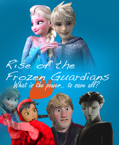 "Plot : Elsa and Anna are already united once more, but not for long. As a matter of time, Anna saw a black guy which she thought was the slenderman (what? XD).Pitch tried to kill Anna, but Elsa saved her, which killed Elsa instead. When Anna saw this, her jantung of cinta disappeared. She was so stressed that she lost her sister, she became so mad. As she became queen of Arendelle, cinta can't control her any longer because of losing Elsa. Instead, Pitch did. Pitch made Anna evil. The selanjutnya day, Kristoff noticed Anna's hair turn black and her eyes were yellow. Anna is already evil. Everyone in Arendelle was so surprised about their new Queen. Meanwhile, Elsa, was standing there, wondering who she was. Jack came near her and took her hand. Elsa gasped. Jack and Elsa went to the North Pole. Many days have passed, Jack and Elsa became closer and fell in love. Jack proposed to Elsa and Elsa berkata yes. ""I cinta you, Elsa"" Jack said. ""I cinta anda too, Jack"" Elsa said, but wait! do they know that Arendelle is in trouble? Do they know that Anna has became evil? ""Bad news"" North said. ""What is it?"" Jack and Elsa said. ""Pitch is attacking Arendelle, Elsa's home"" North said. Elsa's eyes widened. ""HOME?!"" She asked very shocked. Tooth gave Elsa her memories. Elsa found out. ""Anna! Now I remember"" Elsa said.. Anna became lebih evil as well. She earned powers, which is fire. Elsa and Jack came back to Arendelle. ""Anna?"" Elsa said. Anna could see Jack, but not Elsa. ""are anda Jack Frost?!"" Anna berkata evilly. ""Yes, and I'm with your sister, anda have to believe in her"". Anna tried to control and she saw Elsa. ""Anna?"" Elsa said. ""Elsa..."" berkata Anna. ""It's me"" Elsa said. Elsa and Anna spoke, Anna became good once again! Her eyes and hair turned back to it's original color. Elsa, Anna and Jack fought Pitch. Pitch was defeated. Anna told everyone in Arendelle to believe in Elsa. Jack and Elsa got married and so did Kristoff and Anna. (the story and the foto is made oleh me)"