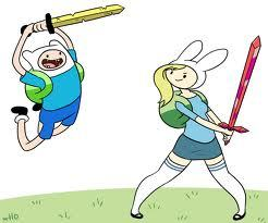 It will be cool if Finn and Fionna was dating. But also impossible the only way will ever met is if Finn and Jake find a portal to AAA or if princess bubblegum creates a portal