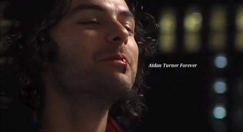 Aidan Turner with shadow