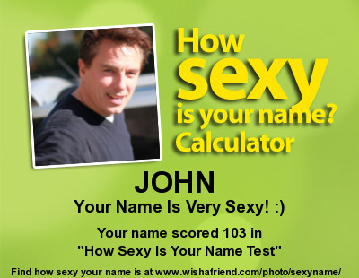 John is HOT and SEXY!!!!!! <333333333