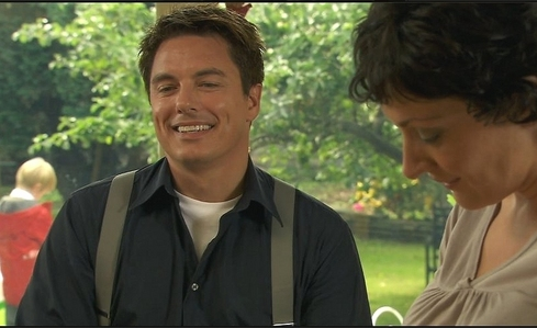 Indoor - Looking up new John Barrowman pictures! Outdoor - Playing football :)