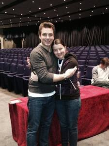 John Barrowman, even though I have met him but he's my idol so anytime spent with him is amazing<3