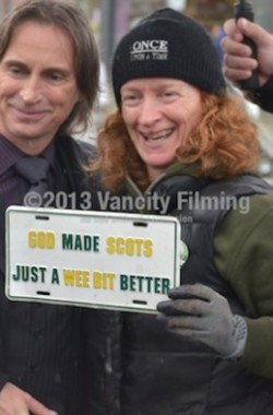 on set OUAT - with wise words :)