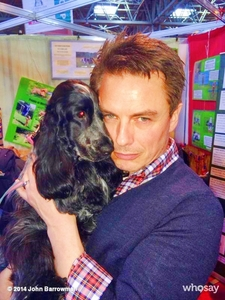 John and a dog :)