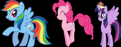I'm actually a mixture of three ponies in пони mode one is радуга Dash because I'm really fast (I'm a cheetah),Pinkie Pie cuz I'm Болталка and funny and Twilight cuz I'm really smart (people tell me that) and that's it! :3