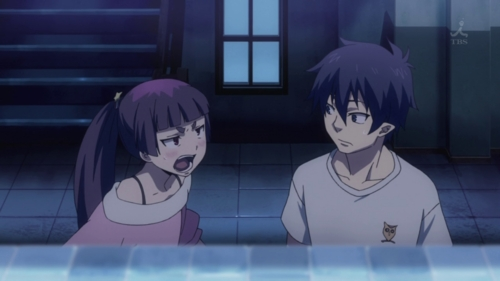 Rin and Izumo from Blue Exorcist