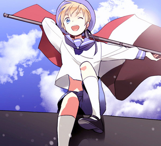 Sealand from Hetalia.