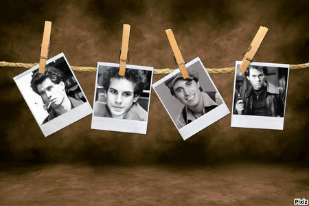 All 4 of these guys John Travolta Barry Miller Joseph Cali Paul Pape and of course my Matthew Lawrence. <3