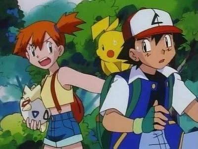 PokéShipping (Ash/Misty). I only support those two as friends. The Ship I support the most is HatThiefShipping (Ash/Aipom) PLEASE DON'T JUDGE ME! To me, it's so obvious that Aipom is head over heels in love with Ash, and while Ash does get annoyed door Aipom's antics, he still cares about her a lot.