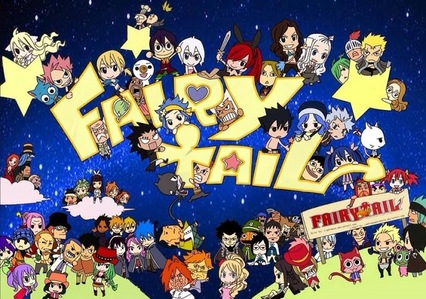 "आप should watch the ऐनीमे Fairy Tail: SUMMARY: Set in an imaginary world, the Earth Land, there exists a Mage Guild called ""Fairy Tail"". Fairy Tail is stationed in the town Magnolia, residing in the Kingdom of Fiore, and is currently governed द्वारा Makarov, Guild's master. Lucy Heartfilia, a 17-year old girl, wishes to become a full-fledged mage and शामिल होइए one of the most prestigious Mage Guilds in the world, Fairy Tail. One day, out of pure coincidence, she meets Dragneel Natsu, a boy who gets travel sick, but has a very cheerful nature. However, she does not know that Natsu is the closest connection to Fairy Tail, as he is a Mage in the Fairy Tail guild. The story goes on to explain her life in the guild and is centred around Natsu, herself and their फ्रेंड्स as they strive to become better wizards and defeat all evil."
