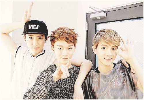 Beagle Line!!! Because they're hilarious as fuck! ChenBaekYeol for the win!!! XP