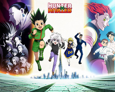 Hunter x Hunter Summary- A 12 साल old boy named Gon, sets off on a journey to find his father. Where he becomes a hunter to do so. Along the way he finds फ्रेंड्स named killua, leorio, and karapika who all set out to be hunters, all with their own individual adventures. They also face life threatening situations along the way. -I recommend आप watch it, it's a really good anime. I thought it wouldn't be good because of the way it looked but it sure fooled me. Currently it's on ep 142 I believe and counting.