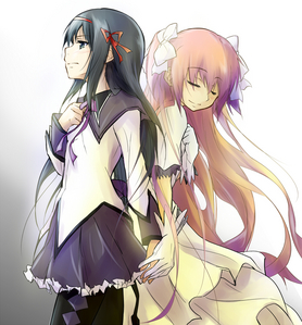 Homura and Madoka <3