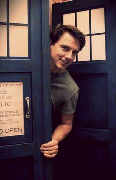 John and The TARDIS!