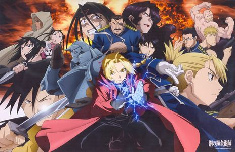 "I feel obligated to post my favorite, sooo... FullMetal Alchemist/Brotherhood. I'll try to keep the summary short. Two brothers (Edward and Alphonse Elric) lose their mother to sickness and try to use Alchemy to bring her back. It doesn't work, as ""human transmutation"" never does, and Ed loses an arm and a leg while Al becomes a soul in a suit of armor. The two then start on a quest to get their bodies back द्वारा finding the Philosopher's Stone. The summary isn't that great, but that's what you'll find on most ऐनीमे sites. The story is much better, I guarantee. Not everyone adores it, but I have yet to meet someone who HATES it. I found it pretty deep as well as a story about overcoming your mistakes and learning of sacrifice. It could also be a typical shonen anime, if आप don't feel like पढ़ना into it या आप just want likable characters and cool action sequences. Either way, I'd say it's worth a watch. OH! One और thing! Watch ""FullMetal Alchemist"" before ""FullMetal Alchemist: Brotherhood."" I'm not gonna lie, the ending to the first series was garbage to me, but it gives आप a better feel for the characters आप meet in the first half. Also, there's one character in FMA that is done SO much better than in Brotherhood. That was really my only problem with the सेकंड series, but other than that, I prefer it. I still always say watch the original first though."