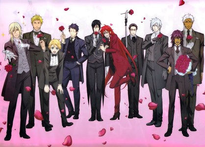 Black Butler was the first anime I ever watched. My friend más o less forced me to watch and I fell in amor with anime.