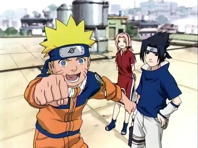 My first anime was Naruto.