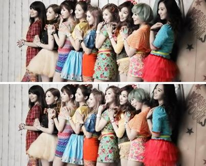 Taeyeon: Awesome leader, nice and mature. Jessica: Pretty Ice princess (My vrienden call me Ice Princess) Sunny: Aegyo (Cute) and pretty Tiffany: Beautiful singing and eye smile Hyoyeon: Awesome dancing skills. Yuri: Good dancer and talented Sooyoung: Pretty and has leadership YoonA: Mature and Pretty Seohyun: Sweet and Innocent My Bias is TIFFANY!!