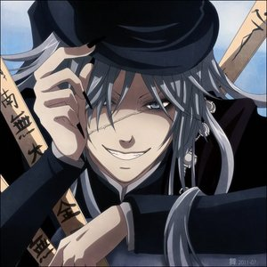 First জীবন্ত character I ever had a crush on was the Undertaker from Black Butler.
