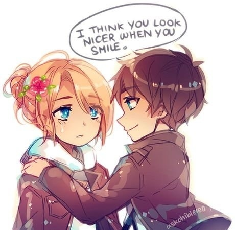 Eren and Annie - Shingeki no Kyojin