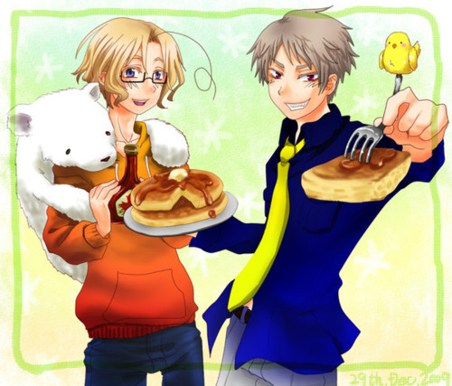 Prussia and Canada. They've never met in तोप that I can tell.
