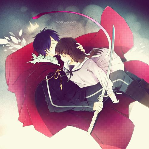 Yato and Hiyori <3