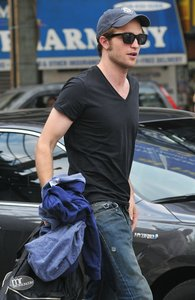 my handsome Robert wearing a dark shirt<3
