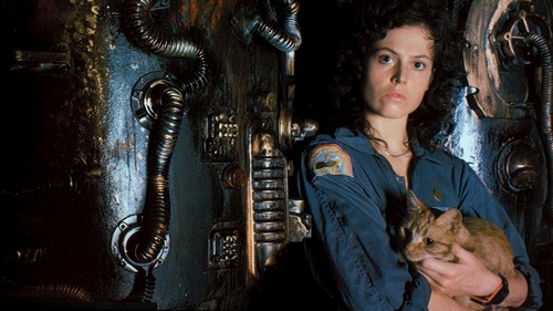 the flawless Sigourney Weaver