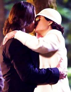 the first marital Kiss in OUAT