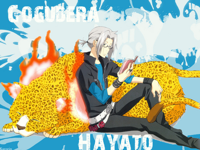 My anime hubby Hayate from Reborn! He is so hot with glasses!