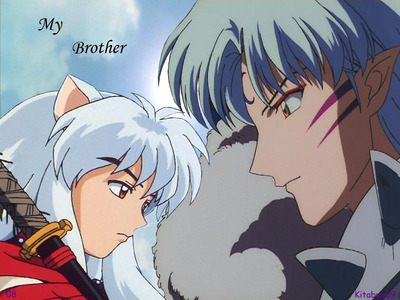 Sesshomaru (InuYasha) against his father, brother, likely himself, over a sword and humans and . . . :)