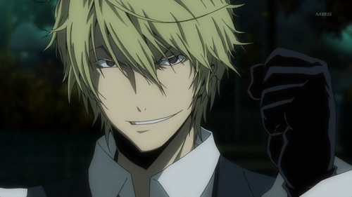 I've always found Shizuo to look particularly that. :)