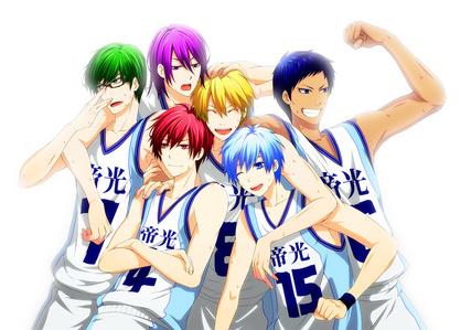 Kuroko no basket ^^