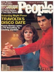 John with Karen Gorney on a 1978 People's magazine :)