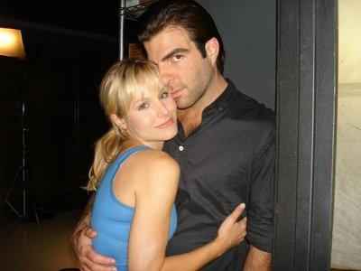 Zack with Kristen klok, bell