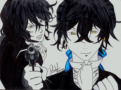 My drawing of Gilbert ^.^
