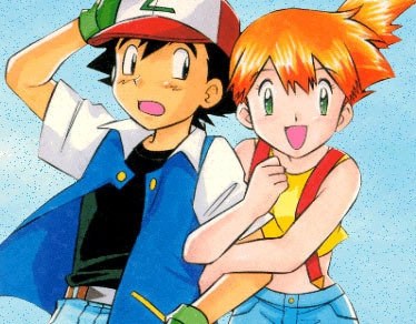 Misty And Ash because Number 1. She is the first girl who traveled with him  Number 2. Isn't it obvious?  But I  don't really like this either because I kind of have a crush on Ash...