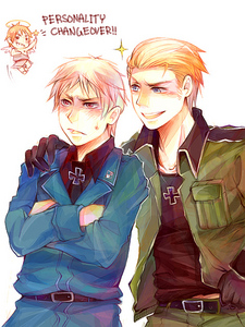 Hmm.. Idk.. Maybe Germany and Prussia?