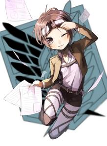 Females~ 1. Hanji Zoe (Shingeki no Kyojin) 2. Hakase Shinonome (Nichijou) 3. Kofuku (Noragami) Males~ 1. North Italy (Hetalia) 2. Shinobu Morita (Honey and Clover) 3. Shinra Kishitani (Durarara!!)