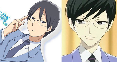 Kaname from Kimi to Boku and Kyoya from OHSHC