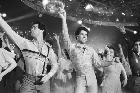 John doing his disco dance :)