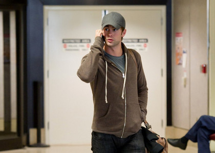 Chace in a hoodie<3